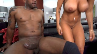 Kayla Kayden Wants Anal Sex And Dp With Gardeners' Big Black Cock