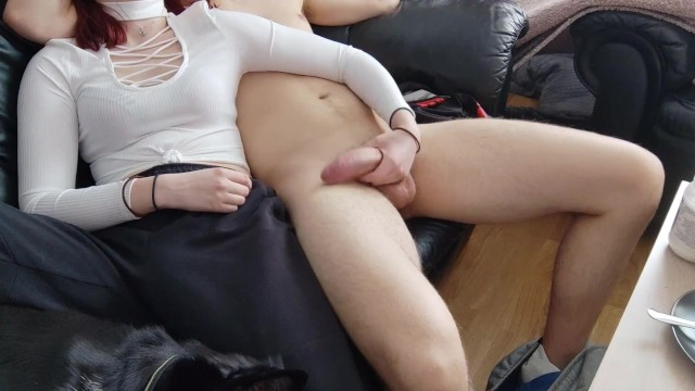 Malia Levin - My Step Brother asked for a handjob so I gave it to him 3