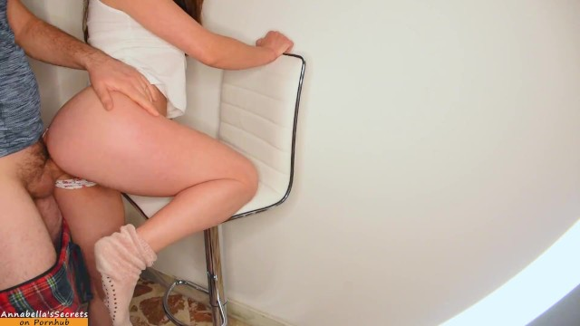 I have never been fucked like this on a chair, I enjoyed like a slut until my legs were shaking, wow 10