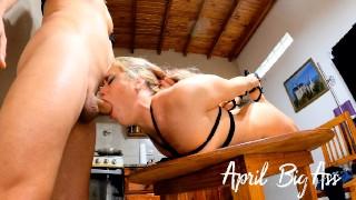 fuckface deepthroat gag bondage used mouth to oral creampie perfect slut for stepdaddy -AprilBigass-