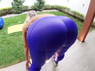 Anal madness my sluttie yoga instructor cum all...