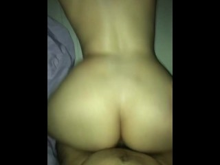 Step-Sister With Big Ass Wasn't Expecting To Cry From Orgasm ( Rough Doggystyle POV )