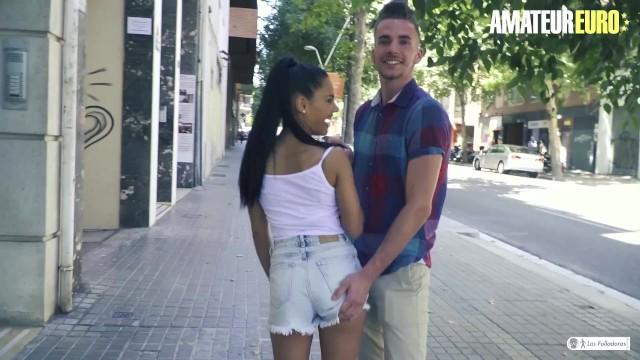 LasFolladoras - Apolonia Lapiedra Spanish Porn Star Picks Up Lucky Guy To Fuck Him Hard 9