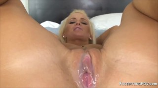 Cuckold creampie eating compilation of hot wives getting fucked and cumshots in pussy while hubby