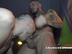 ROMANTIK fucked barebck by KALIL for CRUNCHBOY in BoyBerry Cruising madrid