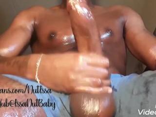 A fat dumping a huge hot pulsa...