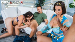Screen Capture of Video Titled: PURGATORYX Genie Wishes Vol 2 Part 3 with Krissy and LaSirena69