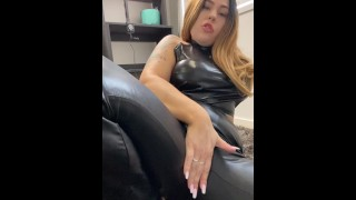 Mistress Mandy wants you to cum over her soles and ass! JOI