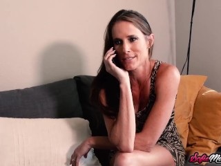 Naughty MILF Sofie Marie Rides BBC And Takes It Doggystyle