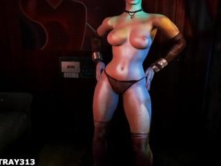 Metro 2033 last light russian stripper...