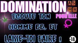 AUDIO DOMINATION / OUVRE TA BOUCHE MON COEUR ! / ASMR - JOI