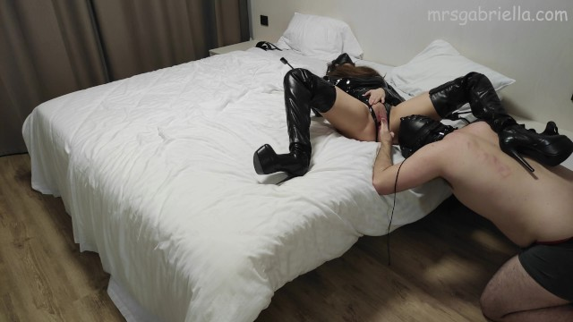 Humiliating & Denying My Sub In A Hotel 6
