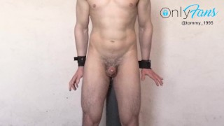 Prostate Milking - Two Orgasms - Anal Probe Vibrator --OF @tommy_1995