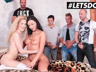 HerLimit - Daphne Klyde And Monique Woods Ukrainian Sluts Hardcore Anal Sex Orgy - LETSDOEIT