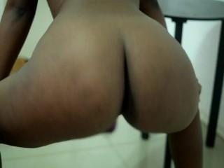Twerking her fat ass ends up being...