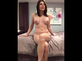 Spanking pussy rubbing...