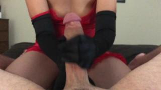 POV Sensual Big Dick Handjob from a Sexy Asian MILF