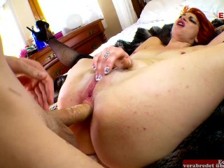 Porn actress with pierced tits during spanish sex...