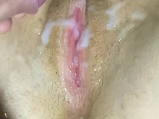 He licks my pussy and jerks me off...