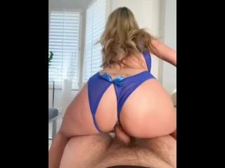 Onlyfans / KaylaKayden getting fucked in blue