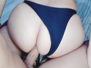 Step-sister loves ANAL sex with a big dick