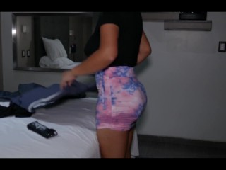 Boss fucks with his maid and cums...