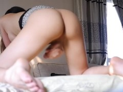 Busty shower clips