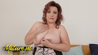 Horny Mature Suzie Is Curvy, Hairy & All Alone!