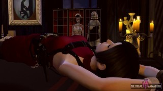 Resident Evil Ada Wong Captured by a Police Zombie Girl and Fucked Extreme - Sexual Hot Animations