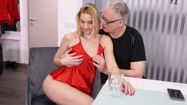 DADDY4K old Man still able to Fuck Sons new Hot GF and make her ...