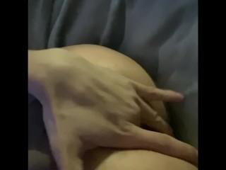 Masterbating and fingering asshole part 2