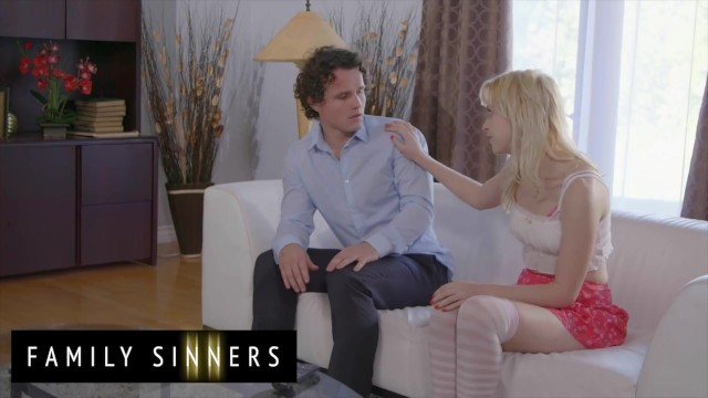 Family Sinners - Chloe Cherry Cant Date Her Stepbrother Robby Echo So She Settles With Fucking Him 3