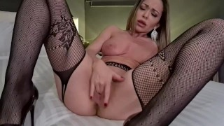 Hot Blonde Creampie Pussy Fingering And Fuck