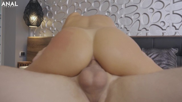 Nympho queen Alyssa Reece got dildo and cock on her ass by Just Anal 5