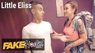 Fake Hostel Little Eliss Cums to an Arrangement with Fake Landlord