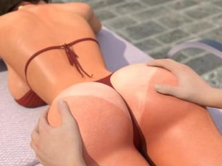 6 touching hot ass...