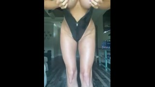 Kayla Moody Onlyfans Strip Tease Video Leaked Leather and Heels