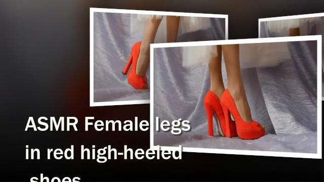 Verified Amateurs;Solo Female balerina, feet, foot, feet-fetish, foot-fetish, nylon-feet, legs, sexy-legs, erotic, hot-legs-and-feet, sexy-shoes, legs-in-stockings, skinny-blonde, asmr, asmr-feet, red-shoes