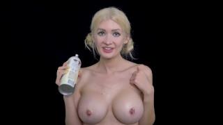 ASMR Whipped Cream Jerk Off Instruction