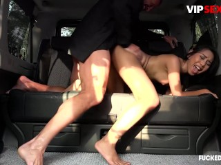 FuckedInTraffic - Killa Raketa Sexy Indonesian Babe Wild Public Fuck In The Backseat