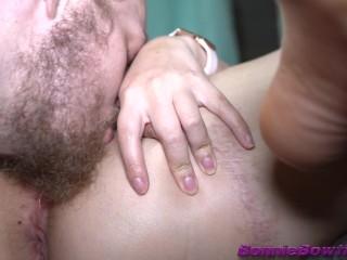 Extreme licking...