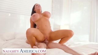 Naughty America - Hot Milf Sybil Stallone gets her wet pussy pounded