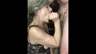 Hot Mature MILF Deepthroat and Rough Facefuck Throatpie Ahegao-Hardcore!