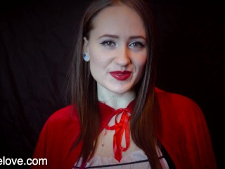 Adult Little Red Worships Your Big Cock JOI