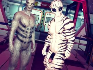 Cloaca exploration gay alien 3...