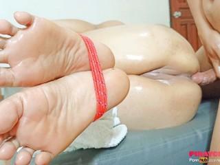 Porn anal feet Teen feet