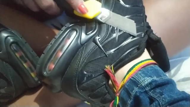 Destroy Girlfriend Shoes Nike TN 9