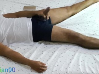 Daddy masturbating...