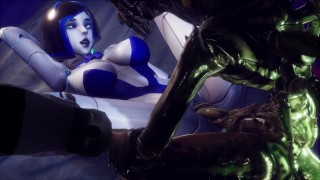 Subverse - DEMI Sex Android and Big Monster Alien Cock 3D Porn Game [studio Fow]