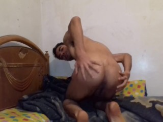 Two cocks making penetration inside this guy ass...